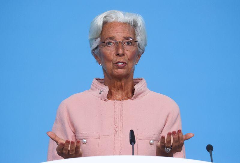 ECB's Lagarde keeps door open to higher inflation