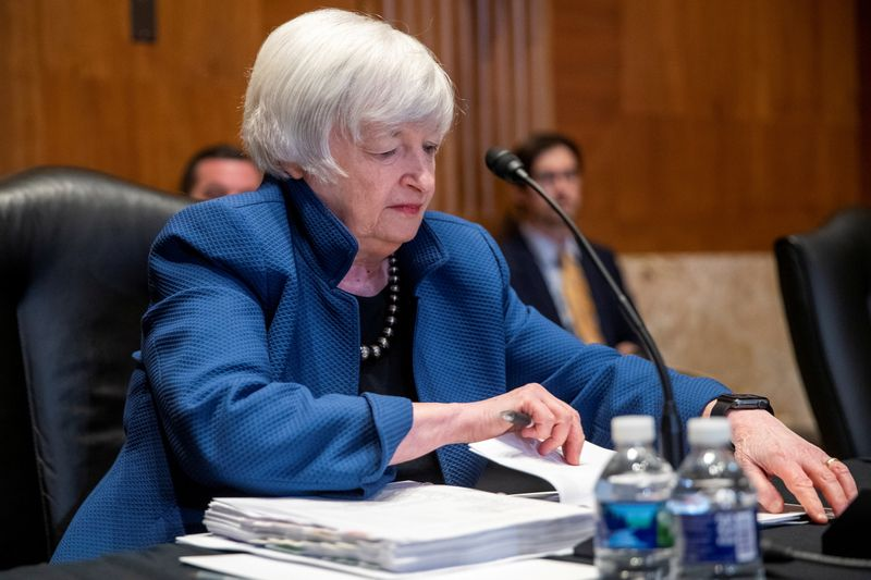 Yellen says U.S. may exhaust cash by Oct 18 barring debt ceiling rise