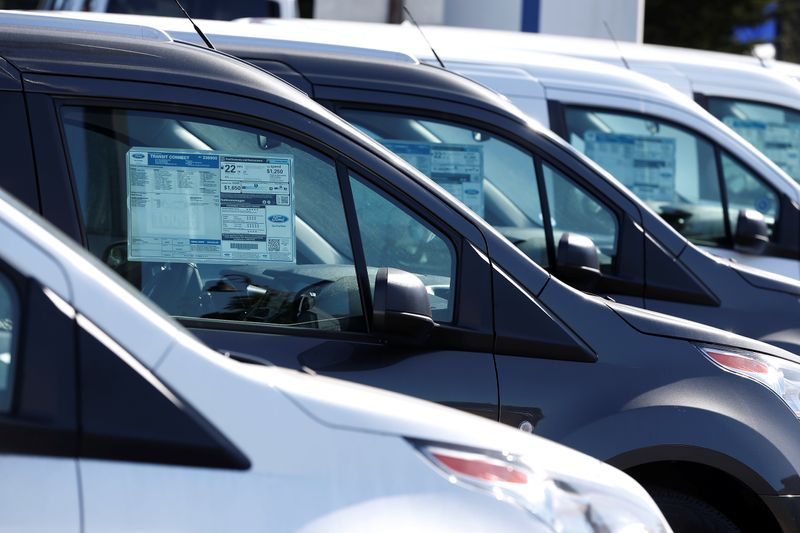 U.S. new vehicle retail sales set to fall 25% in Sept - data