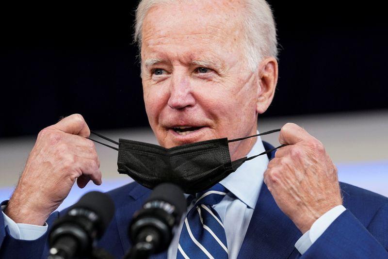 Biden diz que Congresso precisa aprovar agenda de infraestrutura