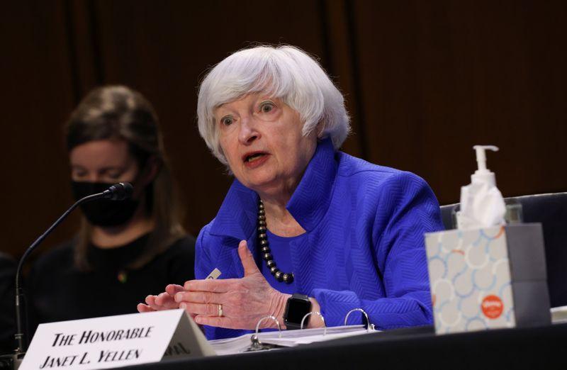 U.S. Treasury's Yellen seeking October agreement on global minimum corporate tax