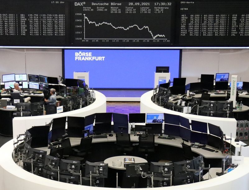 European stocks stabilise after tech-driven rout By Reuters