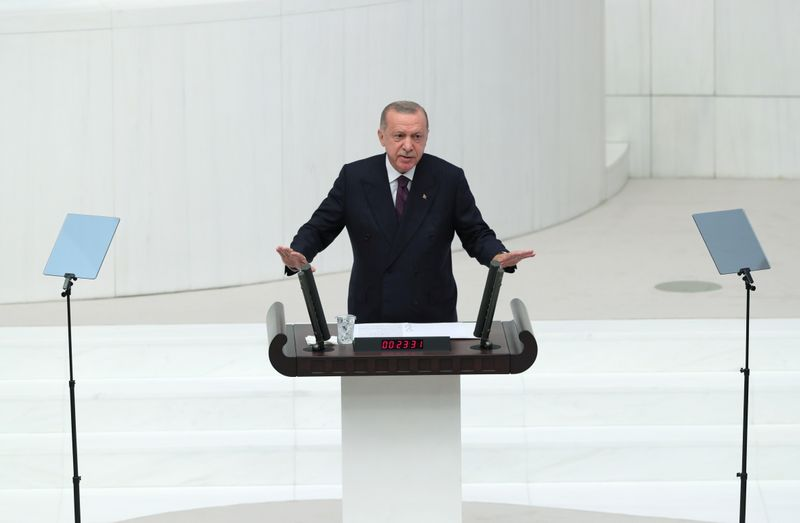 Turkey to open 1,000 markets to counter high inflation, Erdogan says