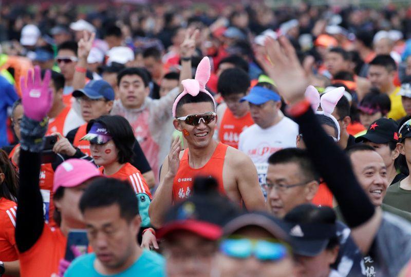 Pequim retomará maratona após suspensão de um ano devido à pandemia