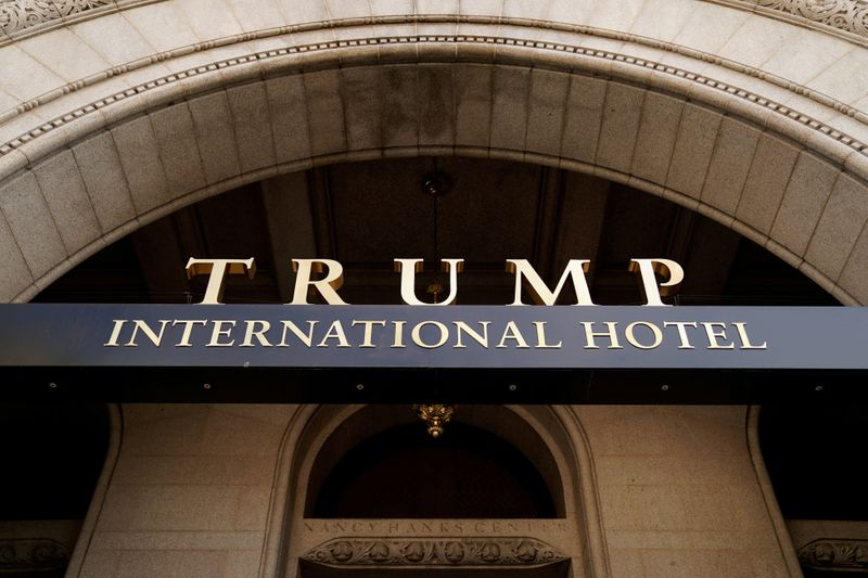 Trump's DC hotel lost millions despite foreign payments -U.S. House panel