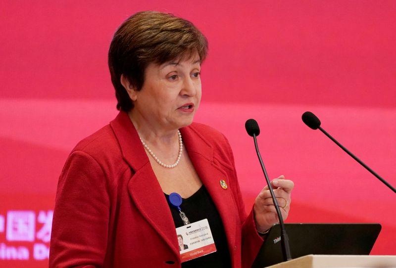 Georgieva's future at helm of IMF still unclear after marathon board meeting