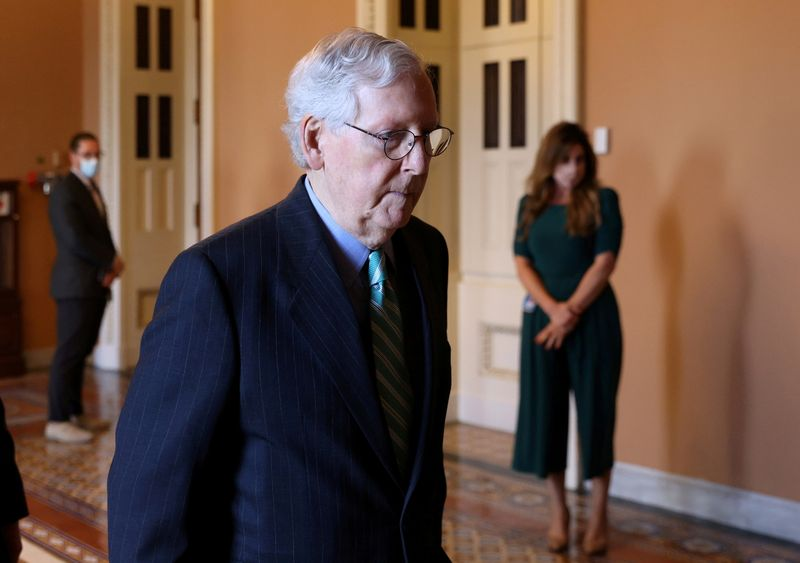 McConnell under fire for debt-ceiling as Democrats claim victory