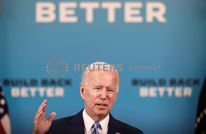 Biden diz que acordo sobre imposto global corporativo ajuda famílias trabalhadoras dos EUA