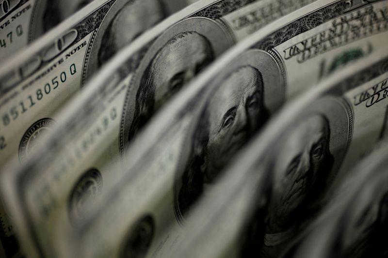 U.S. dollar net long bets jump to largest since mid-June 2019 -CFTC, Reuters data