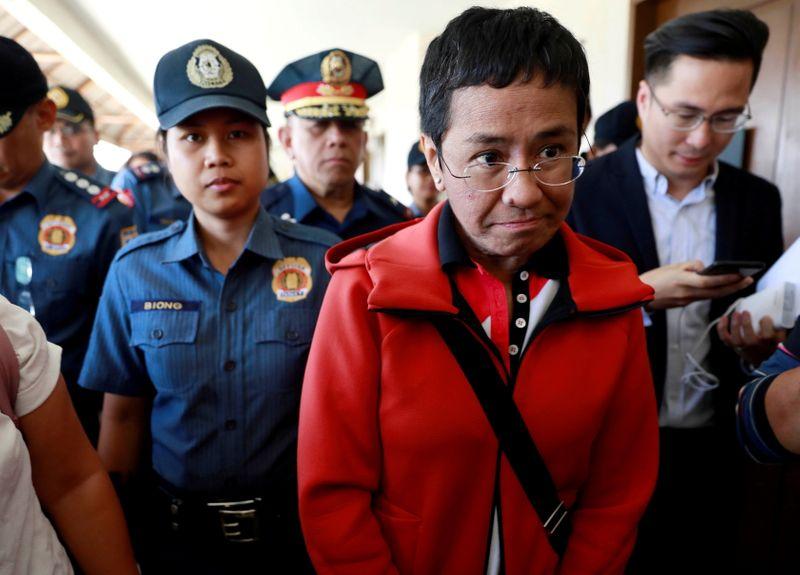 Philippine Nobel winner Ressa calls Facebook 'biased against facts'