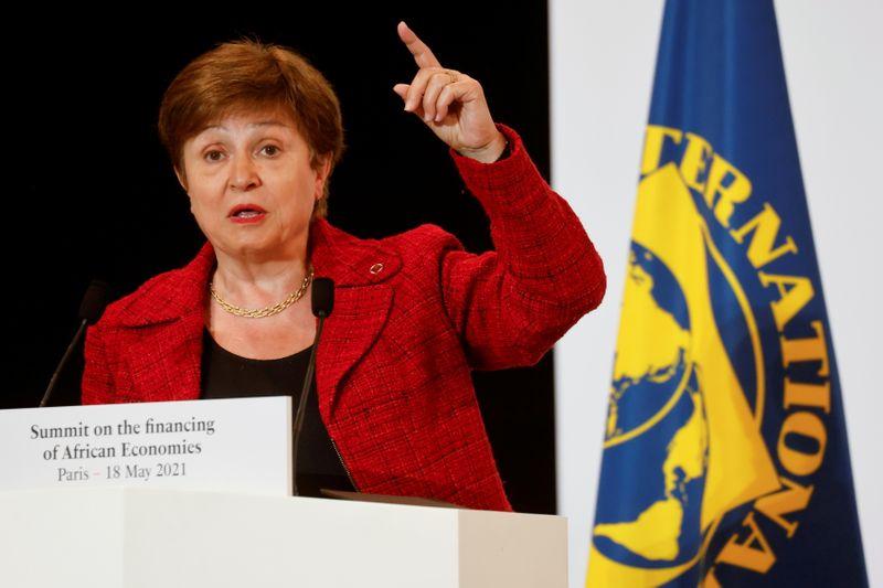 Exclusive: IMF board to meet Sunday for more talks on Georgieva's future