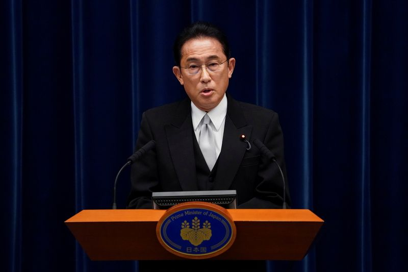 Japan's Kishida puts wage hike incentives ahead of higher capital gains tax