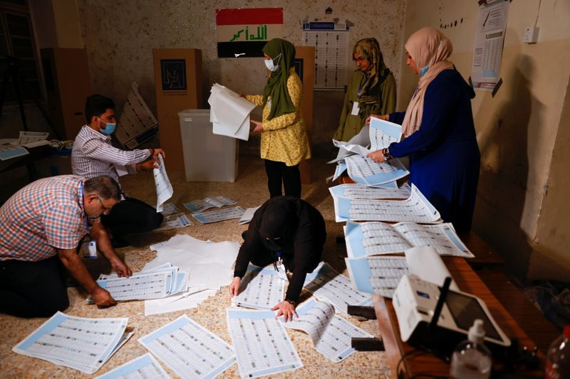 Cleric Sadr wins Iraq vote, former PM Maliki close behind -officials