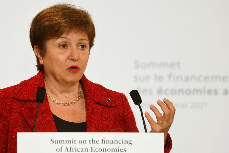 Conselho do FMI retoma ainda nesta 2ª debate sobre futuro de Georgieva