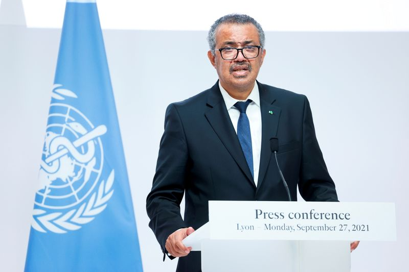 WHO chief urges COVID-19 vaccine sharing to make mass coverage 'reality'