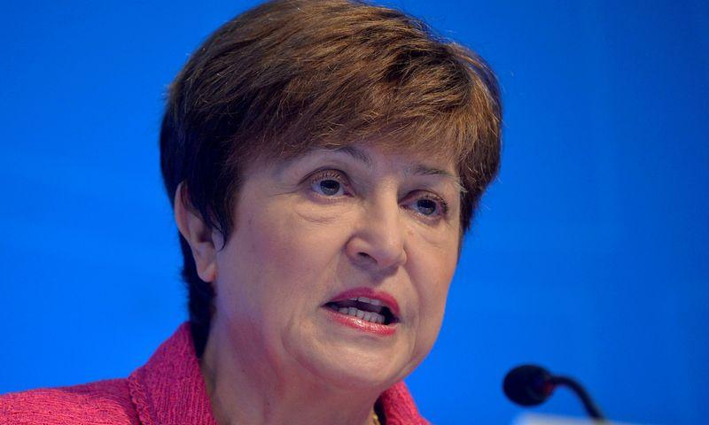 Chefe do FMI espera que membros cumpram meta de transferir US$100 bi em reservas a países vulneráveis