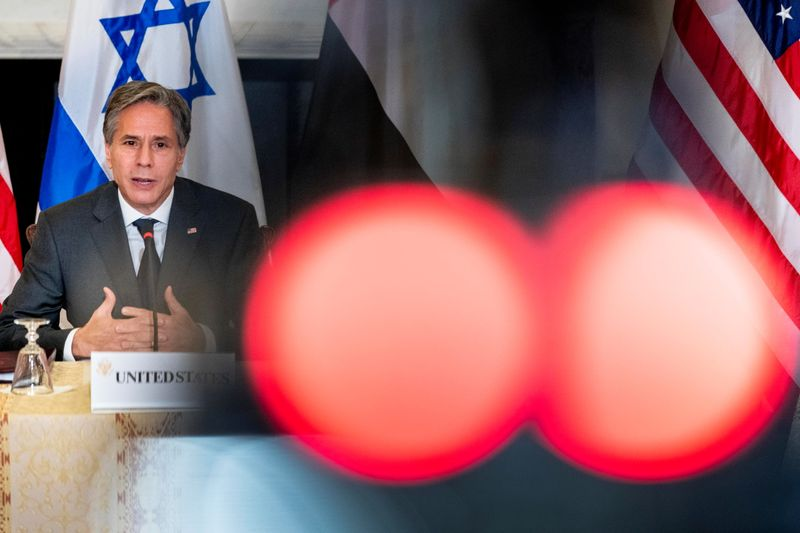 U.S. will move forward with reopening its Palestinian mission in Jerusalem -Blinken