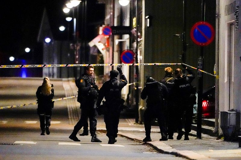 Man armed with bow and arrow kills five people in Norway attacks, police say