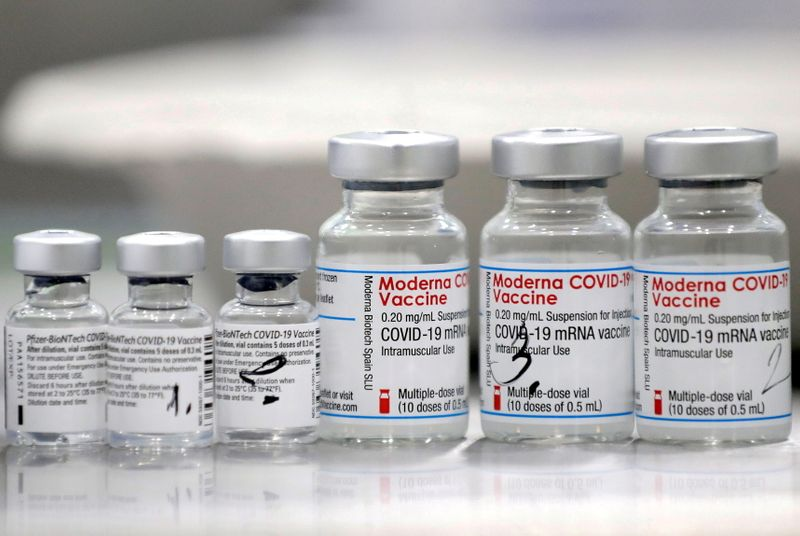 J&J COVID-19 shot gets better boost from Moderna or Pfizer in NIH study