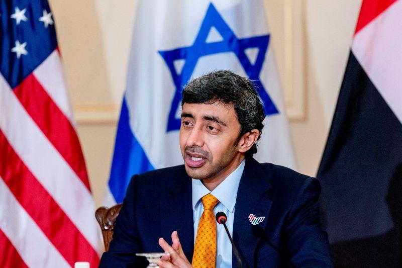 Chanceler dos Emirados diz que visitará Israel em breve