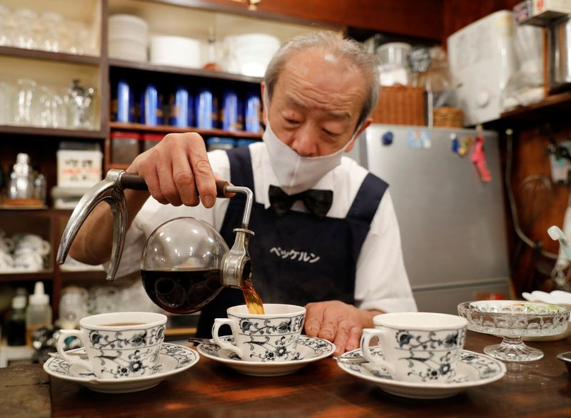 From beef bowls to coffee, cost surge squeezes Japan's salaryman staples