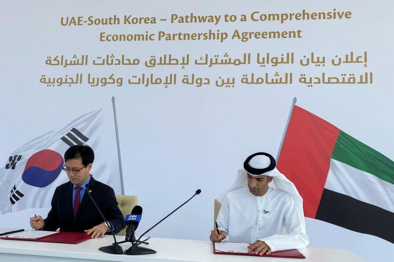 UAE, South Korea agree talks on trade deal