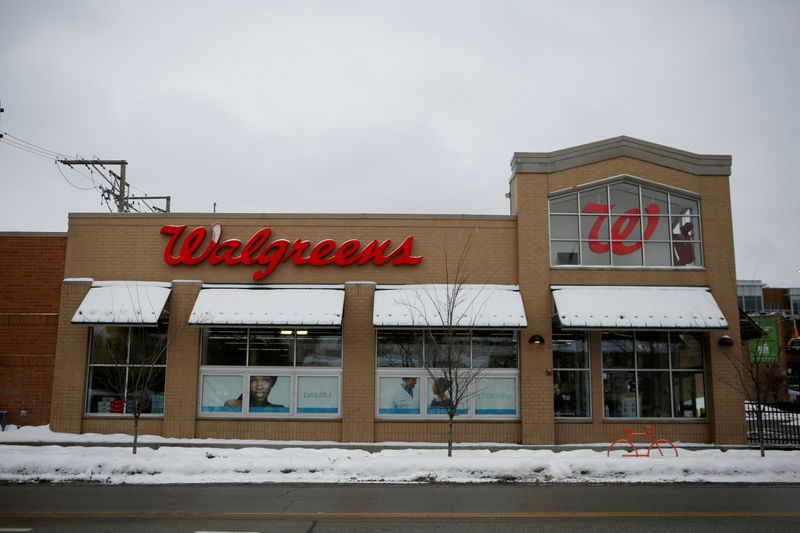 Walgreens results beat estimates on strong pharmacy sales, COVID-19 vaccinations By Reuters