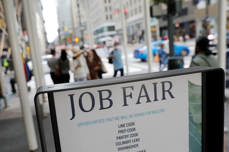 U.S. weekly jobless claims fall sharply last week; producer prices increase in September