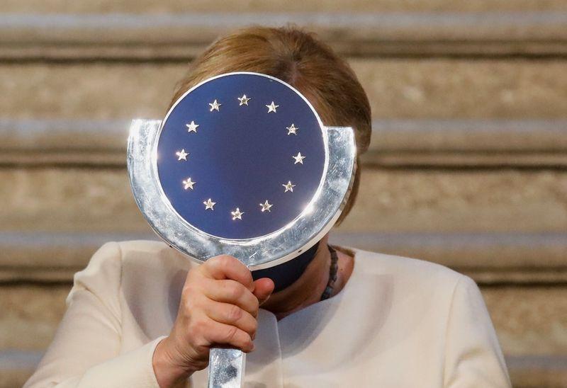 Merkel diz que Europa pode lidar com ascensão da China se falar como uma só voz