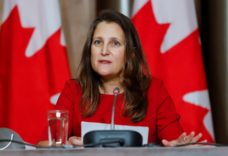 Canada is concerned about supply chain issues, watching ports closely - finance minister