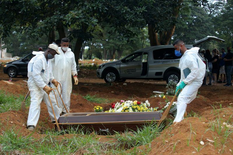 Brasil registra 14.288 casos novos e 525 novas mortes por Covid