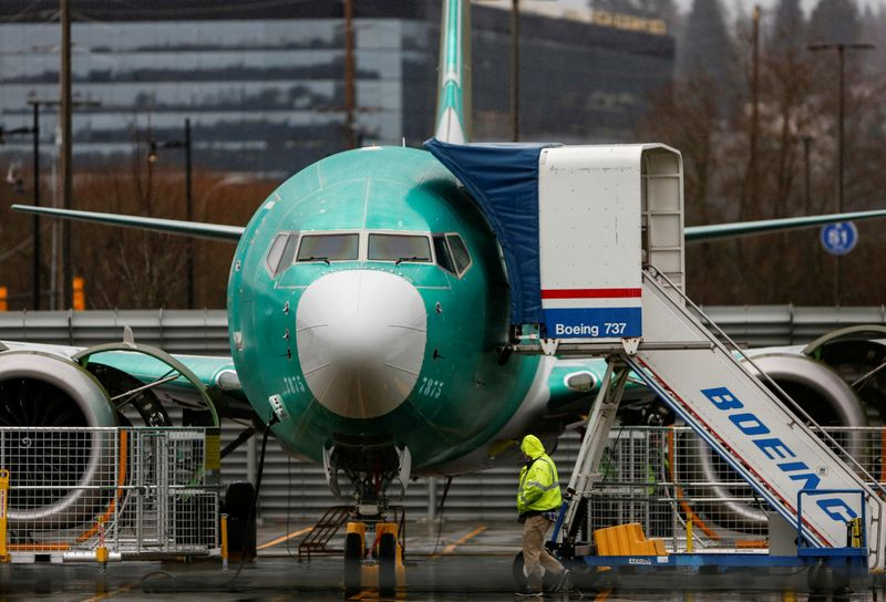 Ex-Boeing 737 MAX chief technical pilot indicted for fraud - U.S. Justice Dept