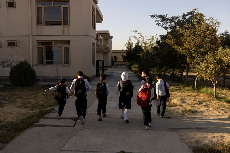 Kabul orphanage struggles to feed its children as cash runs low