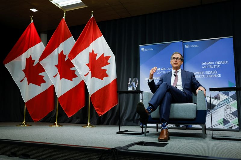 Bank of Canada chief: Supply chain problems mean inflation set to be more stubborn