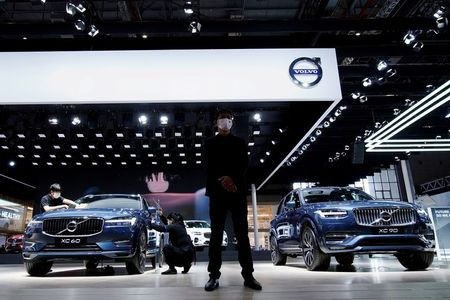 Geely's Volvo Cars sets price range of 53-68 crowns/share in IPO