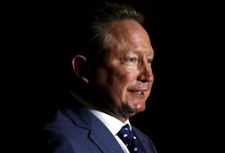 Exclusive: Australia must commit to carbon cuts to keep green energy advantage -Fortescue's Forrest
