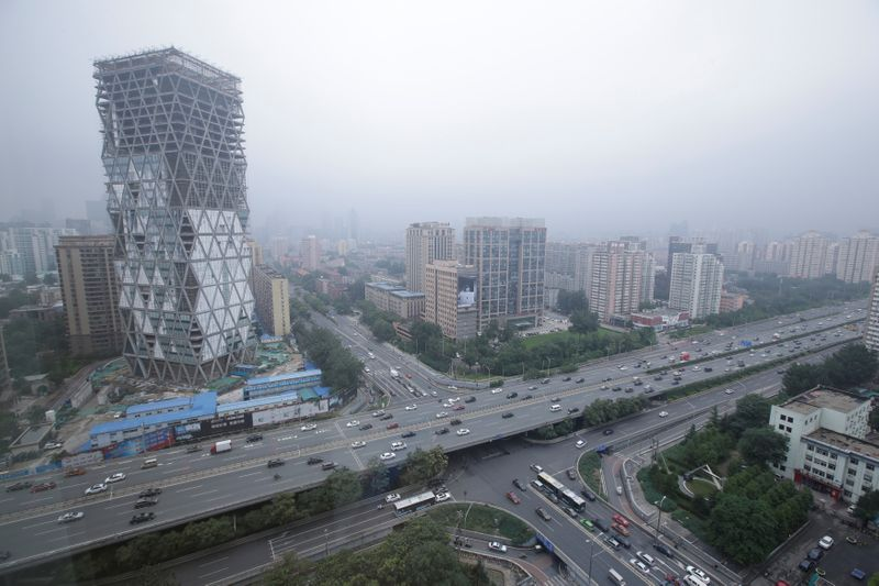 China's land sales slump for second month as property chill bites