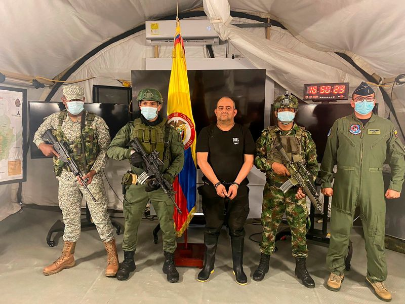 Colombia nabs Otoniel, drug kingpin and gang leader -government
