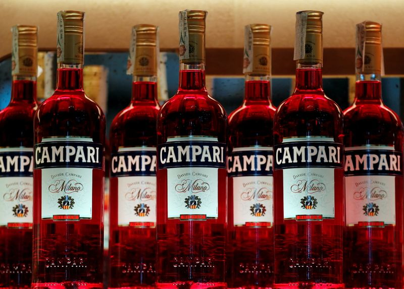 Campari says Q3 spirits sales grew 12.8%, flags rising costs By Reuters