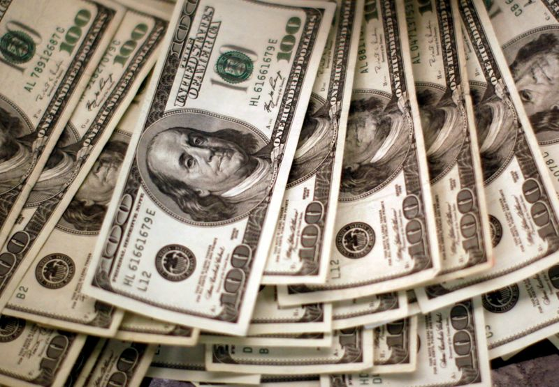 Dollar index slips in mix of gains, losses on major currencies