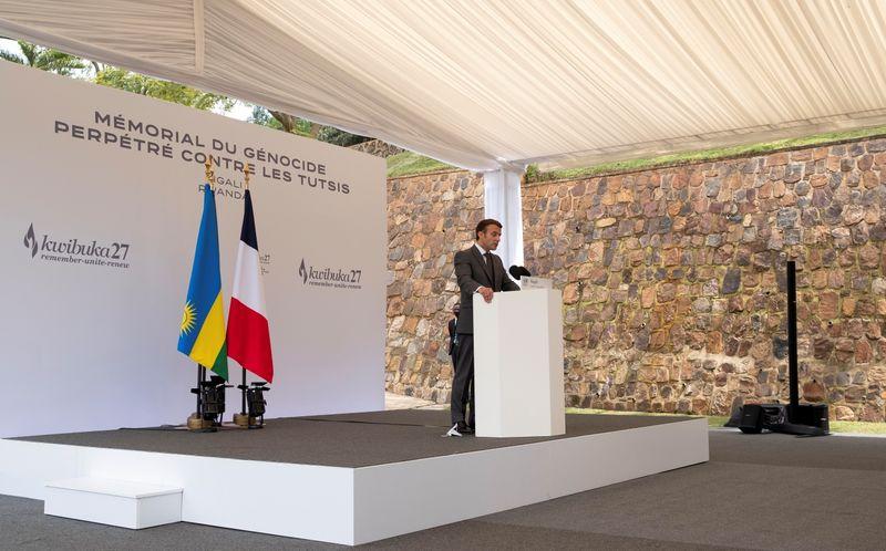 France's Macron seeks forgiveness over Rwandan genocide