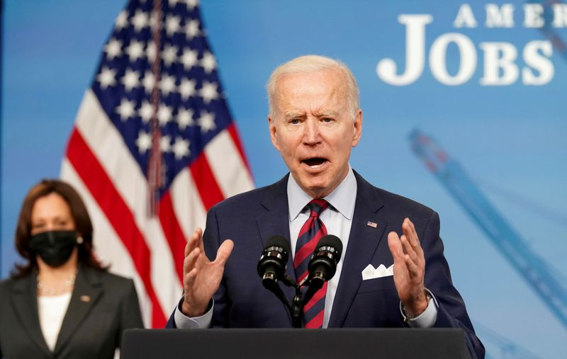 Biden to push $6 trillion U.S. budget for next fiscal year - NYT
