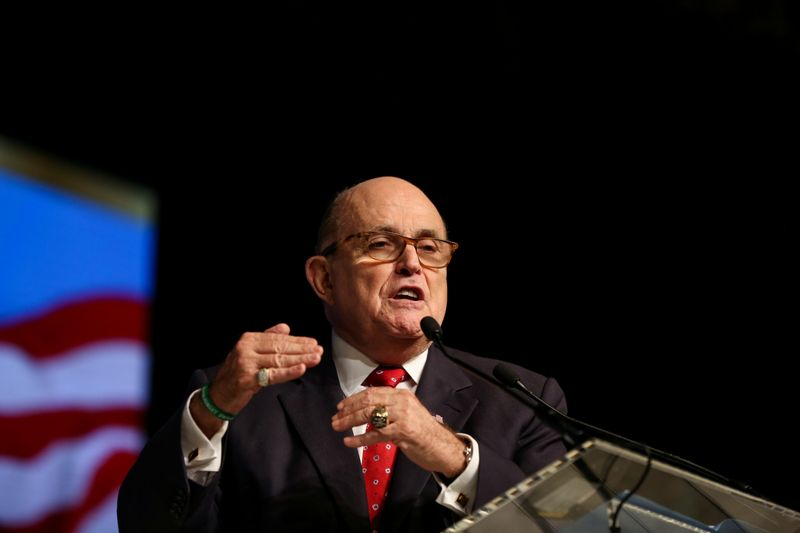 Judge orders special master to review Rudy Giuliani's electronic devices