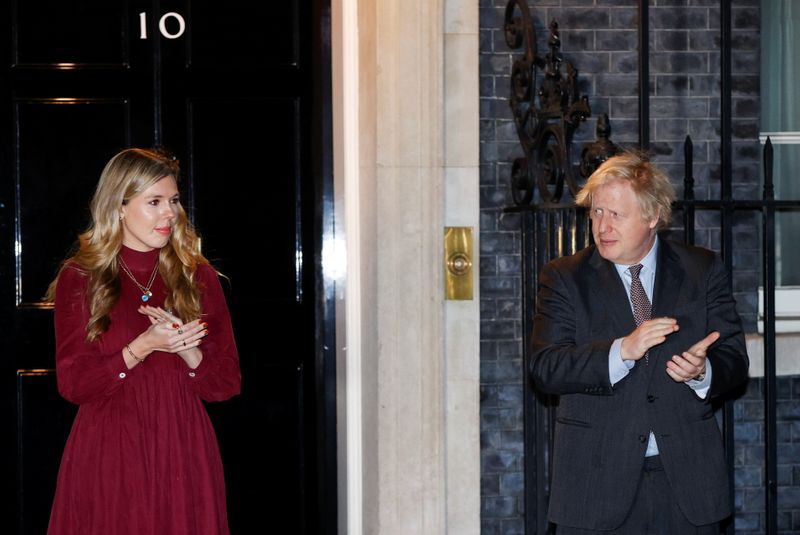 UK PM Johnson married fiancée in secret ceremony on Saturday -official