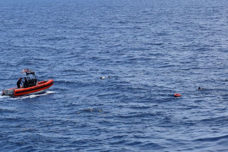 U.S. Coast Guard suspends search for 10 Cuban migrants from capsized boat near Florida