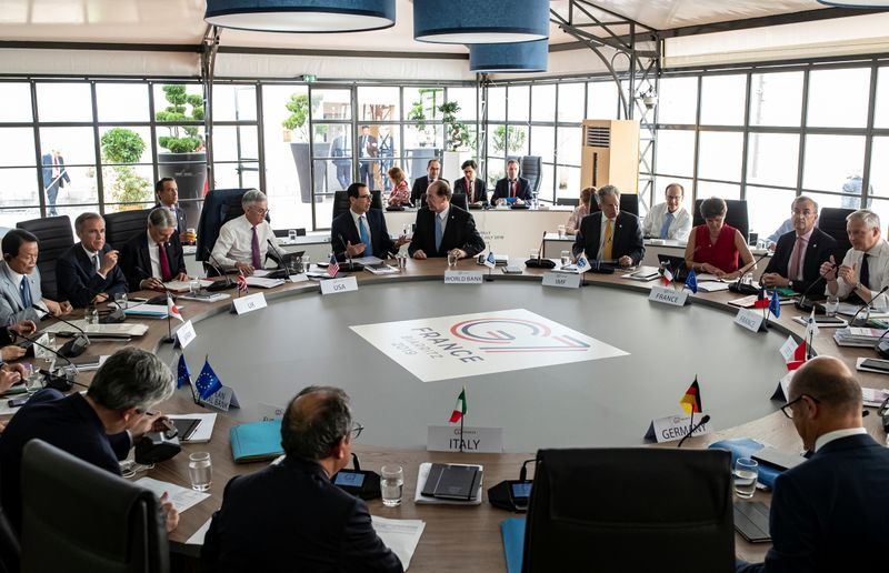Exclusive-G7 to back minimum global corporate tax and support economy - draft