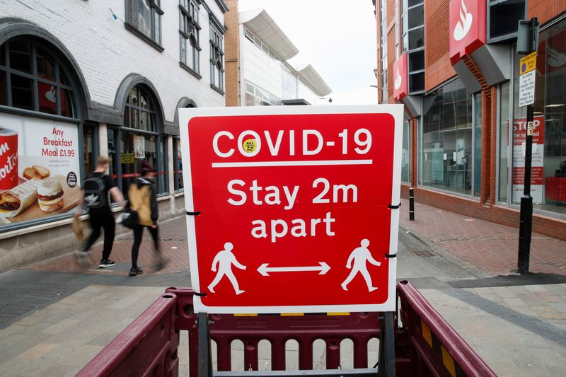 Britain reports 3,383 new COVID-19 cases and one death