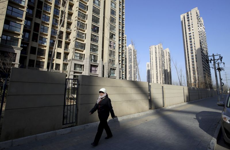 China's new home prices rise for third month in May - private survey