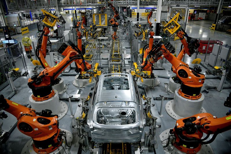 U.S. manufacturing sector picks up in May; work backlogs rising - ISM