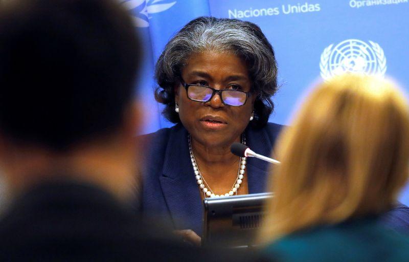 U.S. envoy to U.N. to visit Syria border ahead of Russia showdown